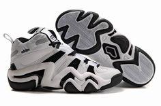 Crazy 8 Adidas Basketball Shoes White Black White