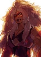 """Read """"Especial Jaspe"""" from the story Imágenes Graciosas de Steven Universe by MaxMagmar with 97 reads. Jasper Su, Jasper Steven Universe, Universe Art, Adventure Time, Character Art, Geek Stuff, Lion, Fan Art, Drawings"""
