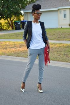 Joggers are taking the fashion world by storm this Fall. Transition your wardrobe with 3 News Ways to Wear Joggers in this new blog post.