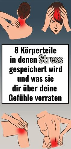 8 body parts where stress is stored and what it Körperteile, in denen Stress gespeichert wird und was sie dir über deine Gefühle verraten 8 body parts where stress is stored and what they tell you about your feelings - Fitness Motivation, You Fitness, Fitness Goals, Health Fitness, Something To Remember, Baby Blog, Les Sentiments, Yoga, Social Platform