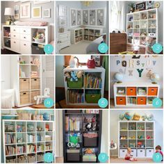 small toy room ideas | love the different basket ideas for small toys (like Legos and ...