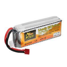 [US$37.99] ZOP Power 11.1V 6300mAh 35C 3S Lipo Battery T Plug for RC Quadcopter RC Car #power #11.1v #6300mah #lipo #battery #plug #quadcopter