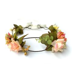 Hey, I found this really awesome Etsy listing at https://www.etsy.com/listing/384894766/rustic-blush-floral-crown-headband-boho
