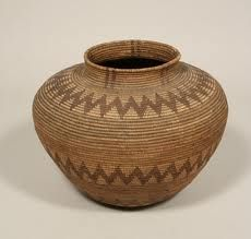 Jar-Shaped Basket from the Native American Collection