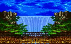 Favorite backgrounds in 2-D Fighters? - Page 7 - NeoGAF