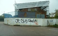Je suis Charlie Wivenhoe Essex UK Via @wivenhoewatcher Street Art