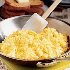 Scrambled egg tips.