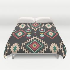 In The West  Duvet Cover