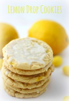 Prize Winning Lemon Drop Cookies via THE MODERN ROOST ~ Won A Blue, Best In Category And Best In Show