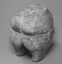 Torso of Mother Goddess - Neolithic Period in Attica, circa 5,000-3,500 BC, terracotta marble, height 10 cm, at the Metropolitan Museum of Art, NY