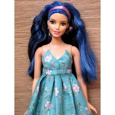 Франсис - портрет. #doll#dolls#mattel#barbie#curvy#curvybarbie#barbiecurvy#bluehair#кукла#куклы#барби#маттел#плюссайз#шьюдлякукол#коллекционируюкукол by lanna_light