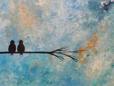 Dipinto astratto originale in acrilico 40x30 cm di Myspecialgift