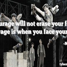 We saw Newsies last week & this line struck me.