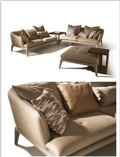 Luxury Contemporary Sectional Sofa China Supplier made by Cocheen Furniture, we are only presenting the high-end modern furnishings for High-end Market Contemporary Sofa, Modern Sofa, Sofa Design, Sectional Sofa, Modern Design, Cushions, Cozy, Throw Pillows, Luxury