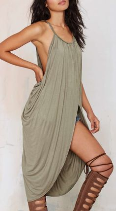 Athena Draped Dress