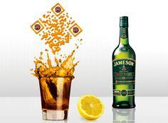 Jamesons QR ad campaign.