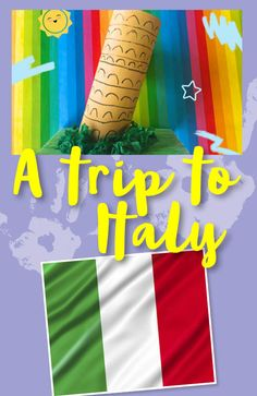 Let your little ones travel with their imagination with our collection of Italy inspired activities. They can even make their very own miniature leaning tower of Pisa! Around The World Crafts For Kids, Around The World Theme, Holidays Around The World, Pre K Activities, Kindergarten Activities, Preschool Lesson Plans, Preschool Art, Lessons For Kids, Projects For Kids