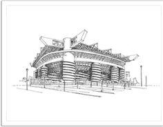 San Siro (Giuseppe Meazza) Stadyumu Kendin Tasarla - Davetiye