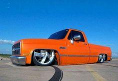 CHEVROLET 1984 Chevy Truck, Chevy S10, Chevy Pickups, Chevrolet Trucks, Bagged Trucks, Lowered Trucks, C10 Trucks, Pickup Trucks, Square Body