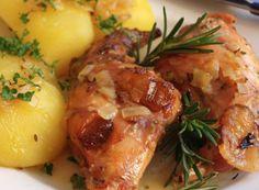 Baked Potato, Food And Drink, Potatoes, Meat, Chicken, Baking, Ethnic Recipes, Essen, Bakken