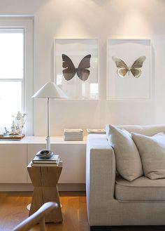 love the butterfly prints    from NathaliePriem - desire to inspire - desiretoinspire.net