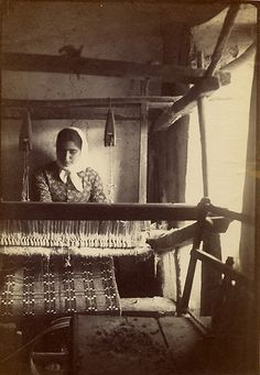 Loom. Weaving is a time-honored tradition we celebrate and encourage others to help preserve by teaching or learning this beautiful art.