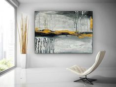 Extra Large Abstract Painting Home Wall Art Modern Oil image 0 Horse Canvas Painting, Canvas Wall Art, Horse Paintings, Modern Oil Painting, Large Painting, Bathroom Wall Art, Home Wall Art, Oversized Wall Art, Palette Knife Painting