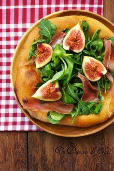 cake italien a la ricotta melon et parme