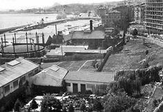 SANTANDER La evolución histórica de San Martín Fábrica de gas, en 1955