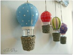 recycled light bulbs VBS Sky more-http://pinterest.com/finnster/vbs-sky-decorations/