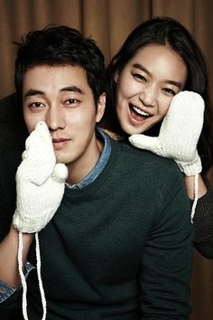 Kim Young Ho (So Ji Sub) and Kang Joo Eun (Shin Min-A) in Oh My Venus.