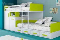 kids bed, Modern Bunk Beds For Kids Bunk Beds With Stairs Lovely Bunk Beds For Kids: New modern bunk beds for kids ideas decorations Bunk Bed With Desk, Bunk Beds With Stairs, Cool Bunk Beds, Kids Bunk Beds, Loft Beds, White Bunk Beds, Modern Kids Bedroom, Modern Bunk Beds, Bedroom Ideas