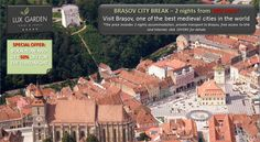 Visit Brasov Medieval City with private transport and luxury accommodation at Lux Garden Hotel Azuga - Romania