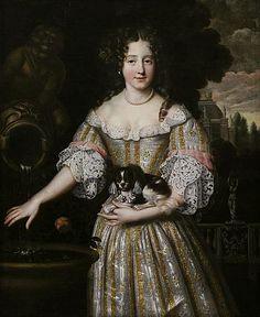 ca. 1670 Louise de Kerouaille by Henri Gascar