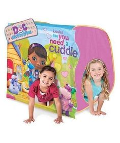 "Disney Doc McStuffins Hide 'N Play Tent Hut ""connects"" Adventure Discovery Huts"