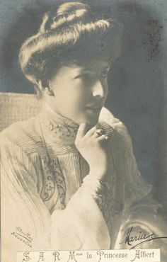 Princess Albert of Belgium, future Queen Elisabeth of Belgium.