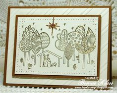 Tuesday, October 28, 2014 Bonnie Klass: Stamping with Klass: Newborn King, Encore Gold, Champagne Glimmer, Elegant Lines EF