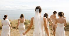 A Jenni Kayne Wedding: Inside Our Creative Director's Dreamlike Island Nuptials   Living   Rip & Tan Advice For Bride, Minimal Look, Whidbey Island, Fire Starters, Beautiful Islands, Our Wedding, Field Wedding, Wedding Ideas, Girls Dresses