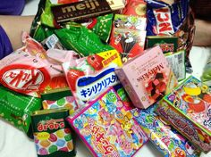 Japan Tokyo Beauty Haul -japanese candy- click for more