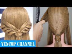 5 Penteados Para Meninas - Penteados Para Cabelos Cacheados | Peinado Penteado 2015 - 2016 - YouTube