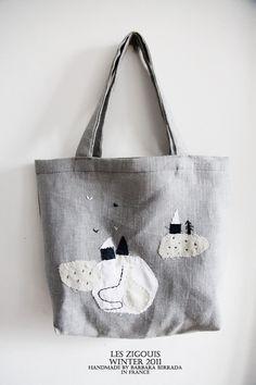 small snow bag