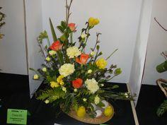 Funeral flower arrangement with mini dream garden for a House of flowers alexandria la