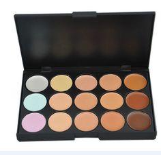 New 2014 Hot Sale Special Professional 15 COLOR Concealer Facial Care Camouflage Makeup Palette