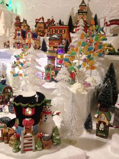 North Pole Village - 2015