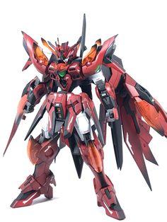 Gundam Wing, Gundam Art, Gunpla Custom, Custom Gundam, Gundam Papercraft, Barbatos Lupus, Battle Robots, Dragon Pictures, Mechanical Design