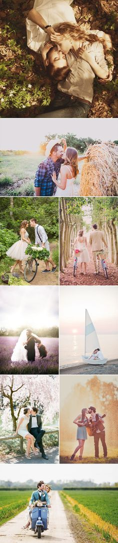 25 Movie-like Engagement Photo Ideas Every Hopeless Romantic Has to Try - Naturally Sweet Love Comedy!