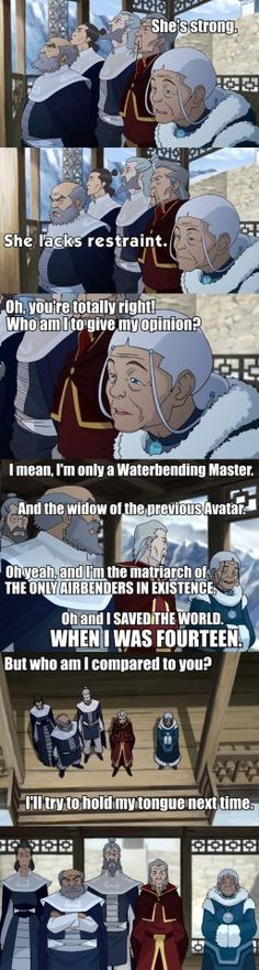 The Legend of Korra Katara PWN