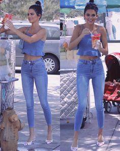 View Kendall jenner clothes, Jenners shopper Stars styles. #Kardashian