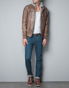 VIGORE HOODED JACKET - perks of a dad who makes leather jackets