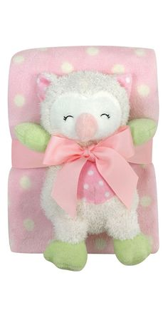 This cuddly little set is perfect for your baby girl.